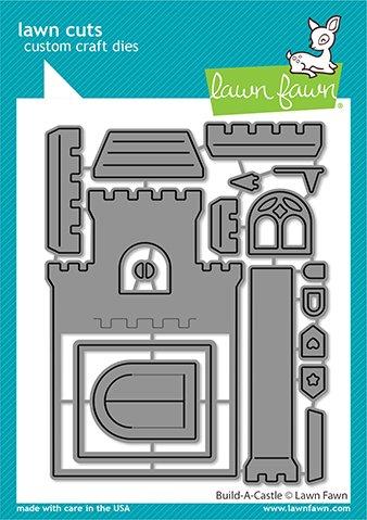 Lawn Fawn Lawn Cuts -Build-A-Castle Dies