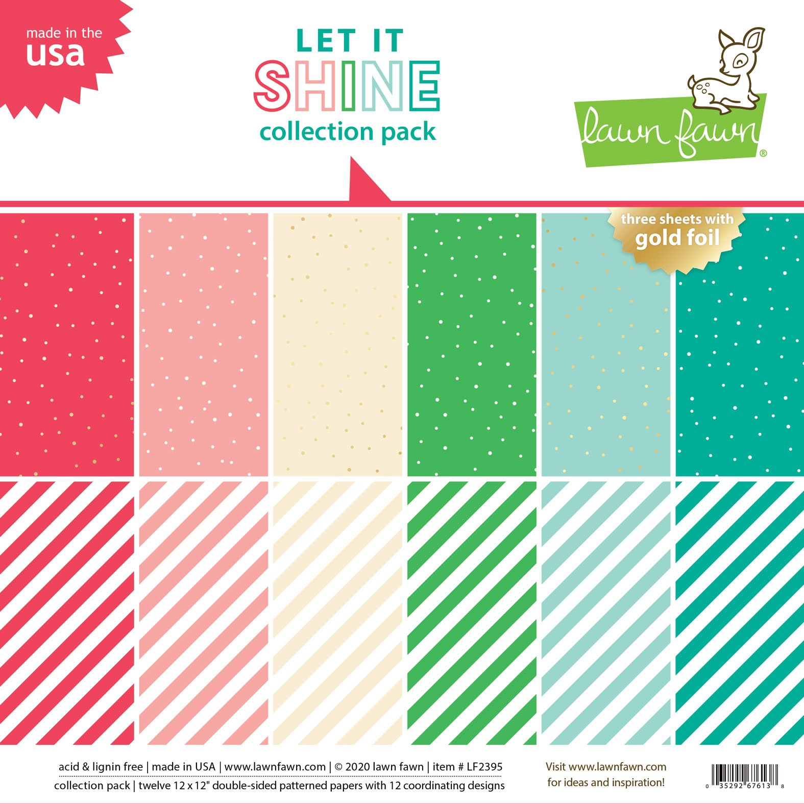 Lawn Fawn Let It Shine - 12x12 Collection Pack