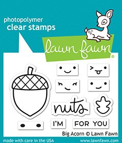 Lawn Fawn Stamps - Big Acorn