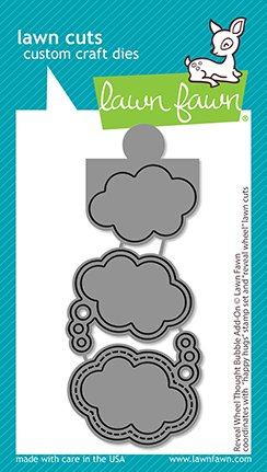 Lawn Fawn - Lawn Cuts - Reveal Wheel Thought Bubble Add-On