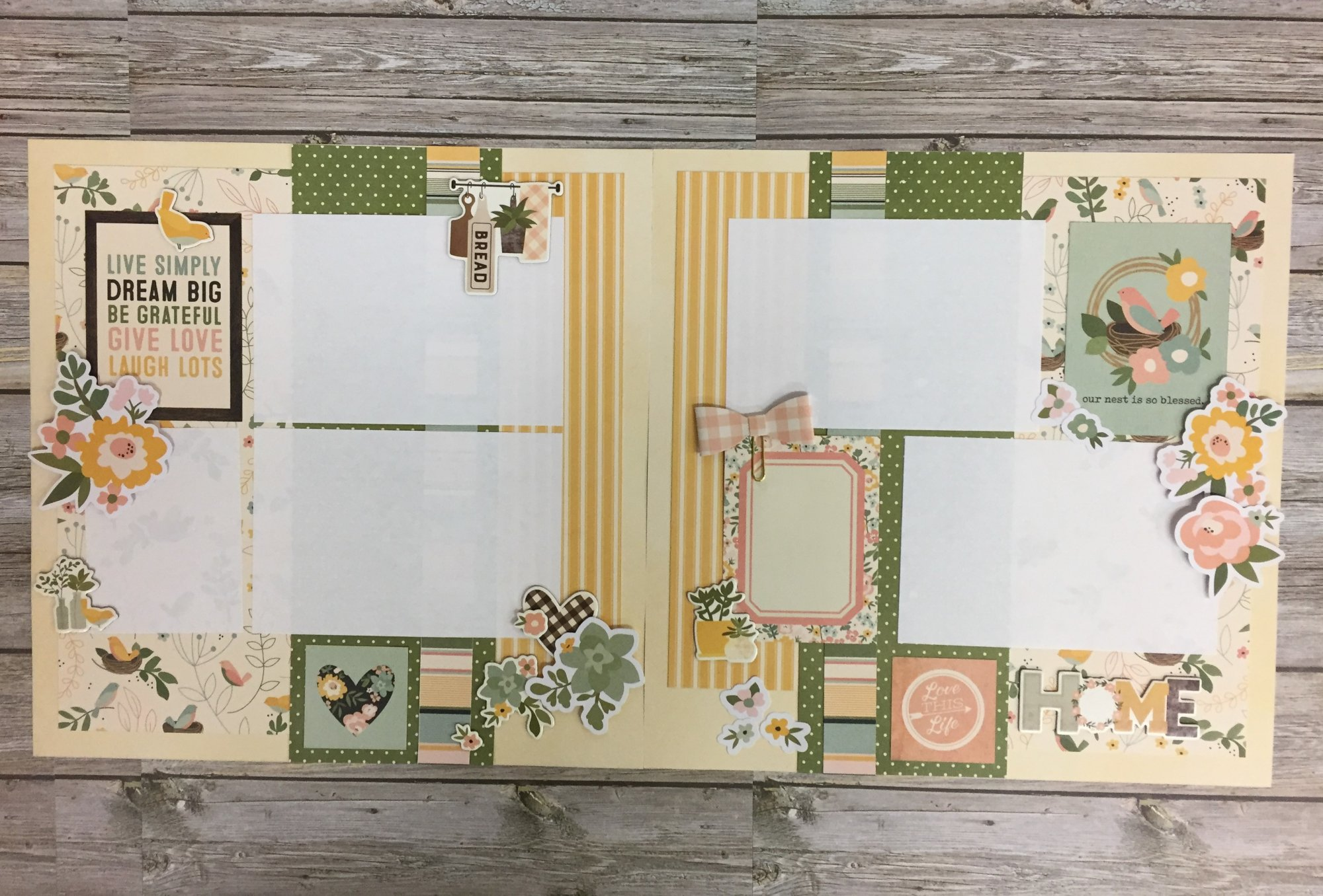 Live Simply Layout Kit by Simple Stories
