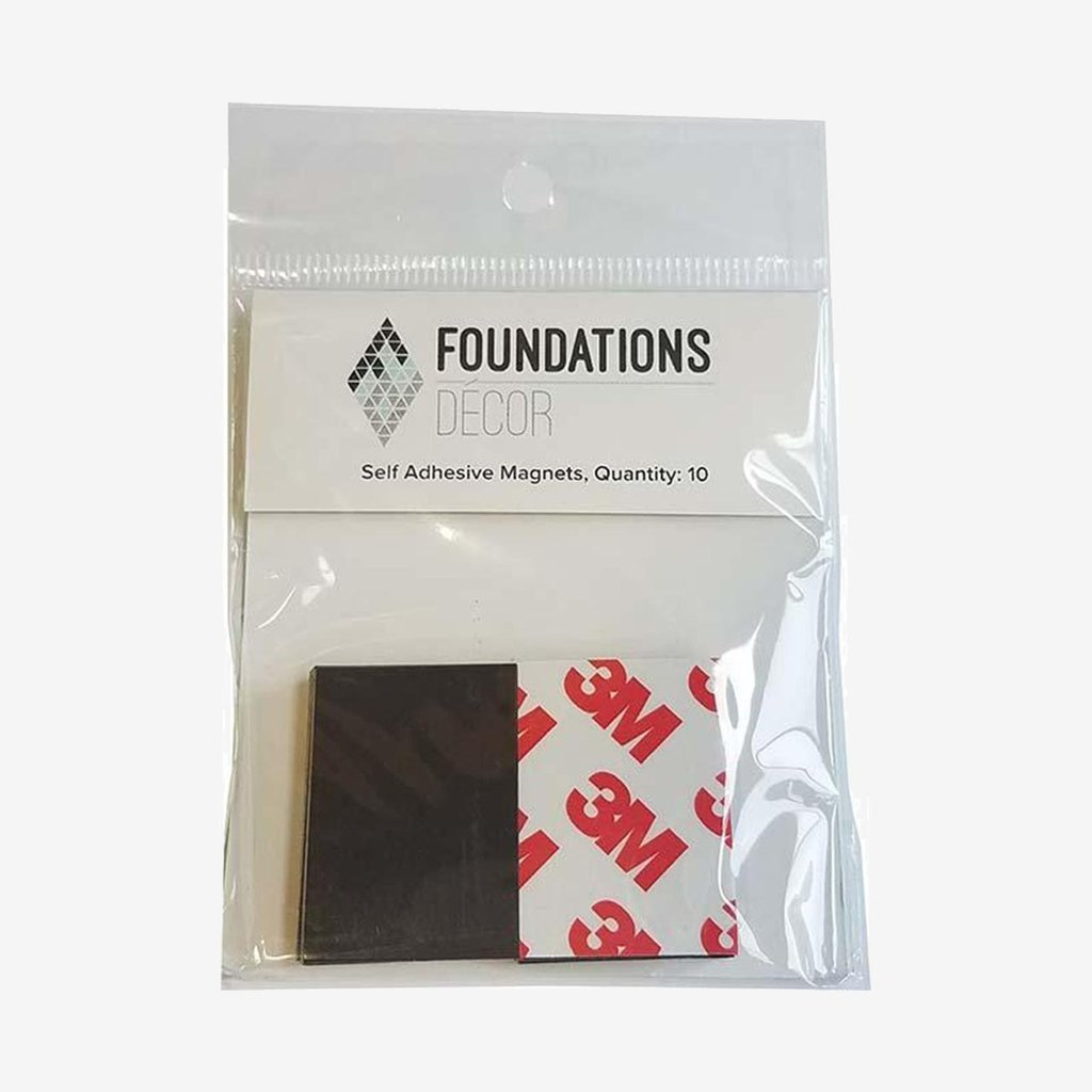 Foundations Decor - Self Adhesive Magnets