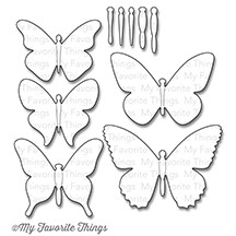My Favorite Things - Die-Namics Die - Flutter of Butterflies - Solid