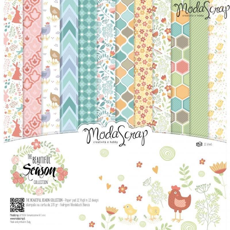 Moda Scrap - The Beautiful Season Collection - 12x12 Paper Pack