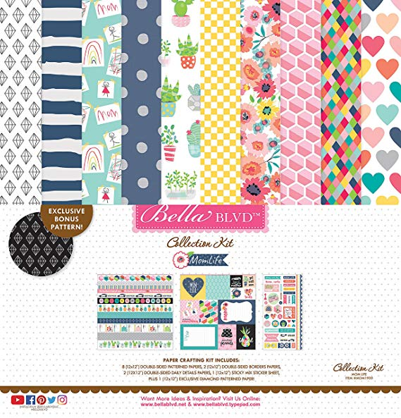 ^Bella Blvd - Mom Life - 12x12 Collection Kit