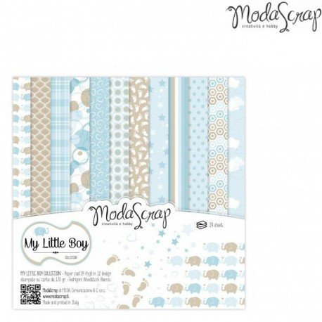 ^Moda Scrap - My Little Boy - 6x6 paper pack