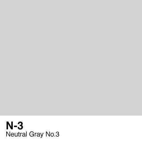 Copic -  Sketch Marker N3 Neutral Gray No. 3