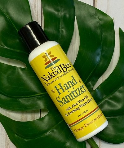 Naked Bee Hand Sanitizer - Orange Blossom Honey, 115ml