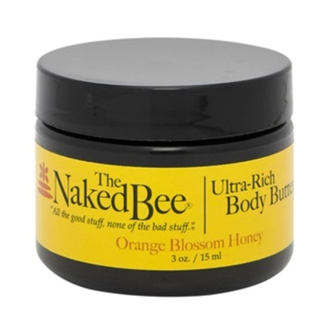 Naked Bee Ultra-Rich Body Butter (15ml) - Orange Blossom Honey