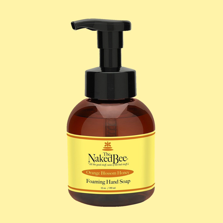 Naked Bee Foaming Hand Soap - Orange Blossom Honey