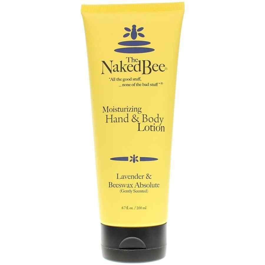 Naked Bee Hand & Body Lotion (67ml) - Lavender & Beeswax Abosulte