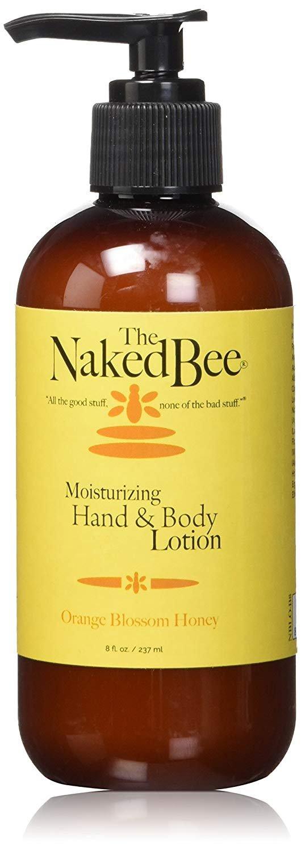 Naked Bee Hand & Body Lotion (237ml) - Orange Blossom Honey