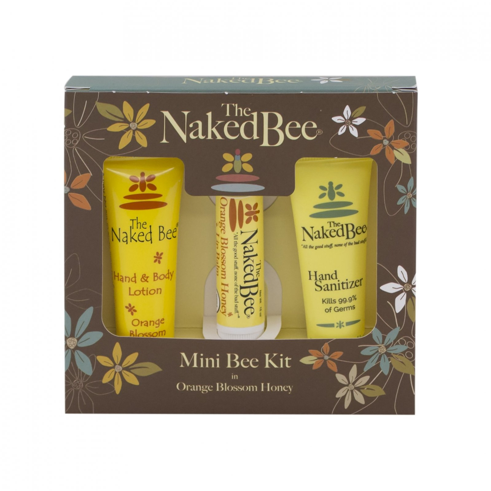 Naked Bee Mini Bee Kit - Orange Blossom Honey