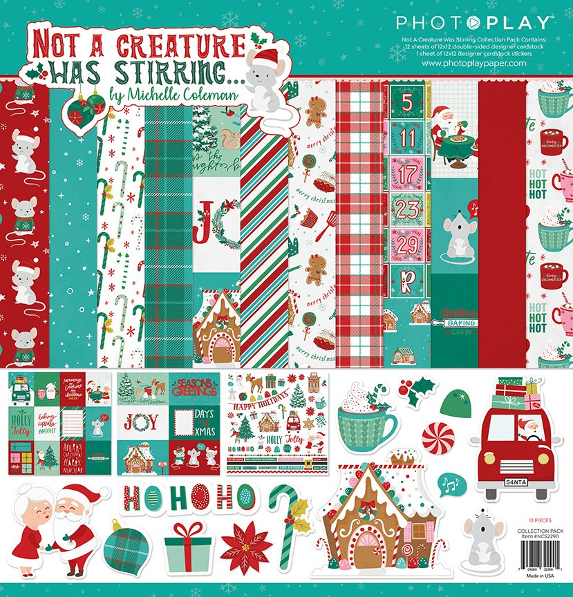 Not A Creature Was Stirring - 12x12 Collection Pack (PhotoPlay)