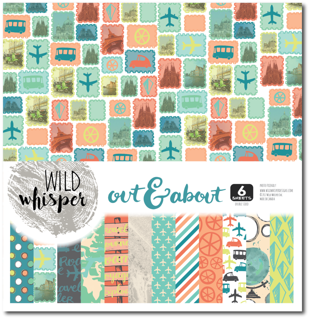 Wild Whisper Paper Pack Out & About 6 Sheets