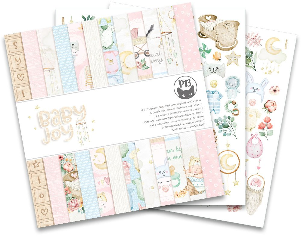 P13 Baby Joy - 12x12 Paper Pad