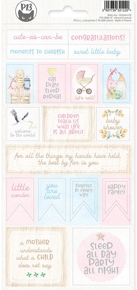 P13 Baby Joy - Stickers 02