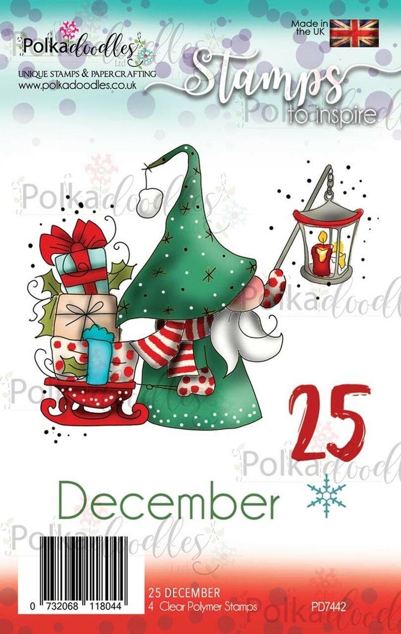 Polkadoodles - Stamps - 25 December