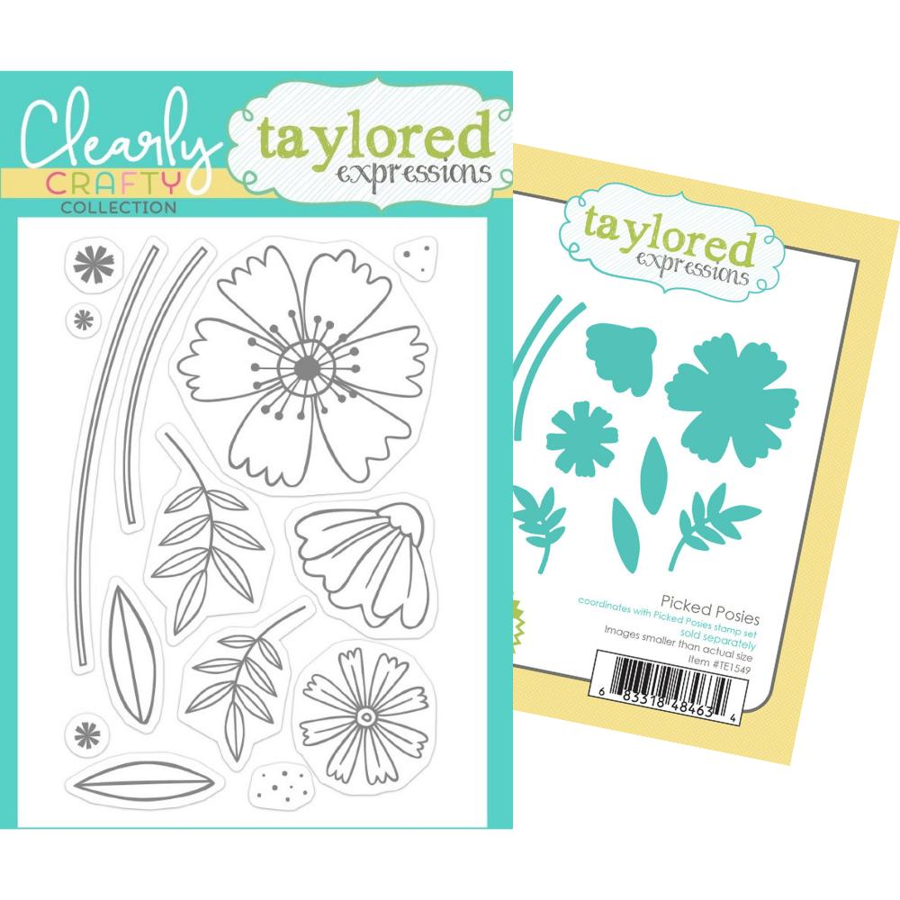 Taylored Expressions - Picked Posies - Stamp and Die BUNDLE