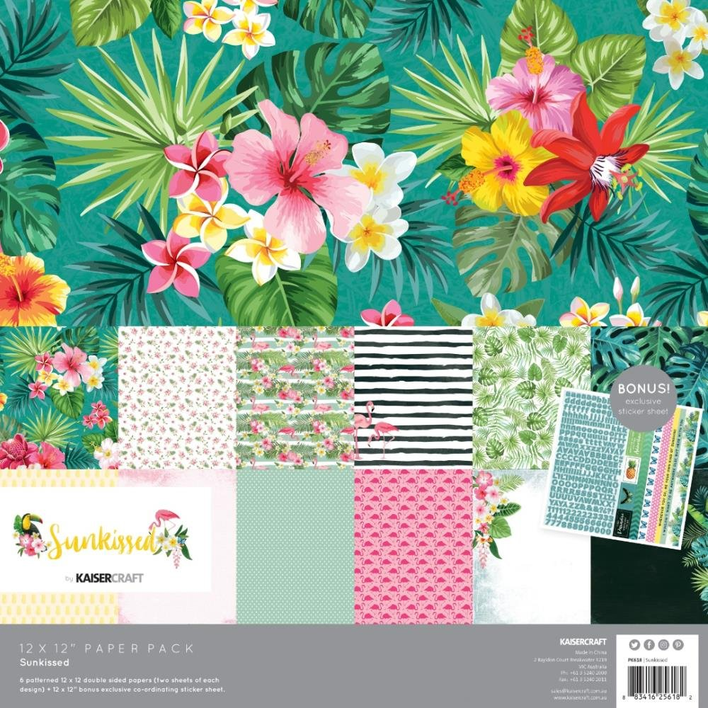 Kaisercraft Sunkissed - 12x12 Paper Pack