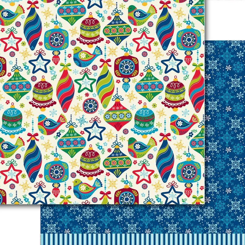 Dare 2B Artzy - Merry & Bright - DECK THE HALLS - 12x12 Double-Sided Paper