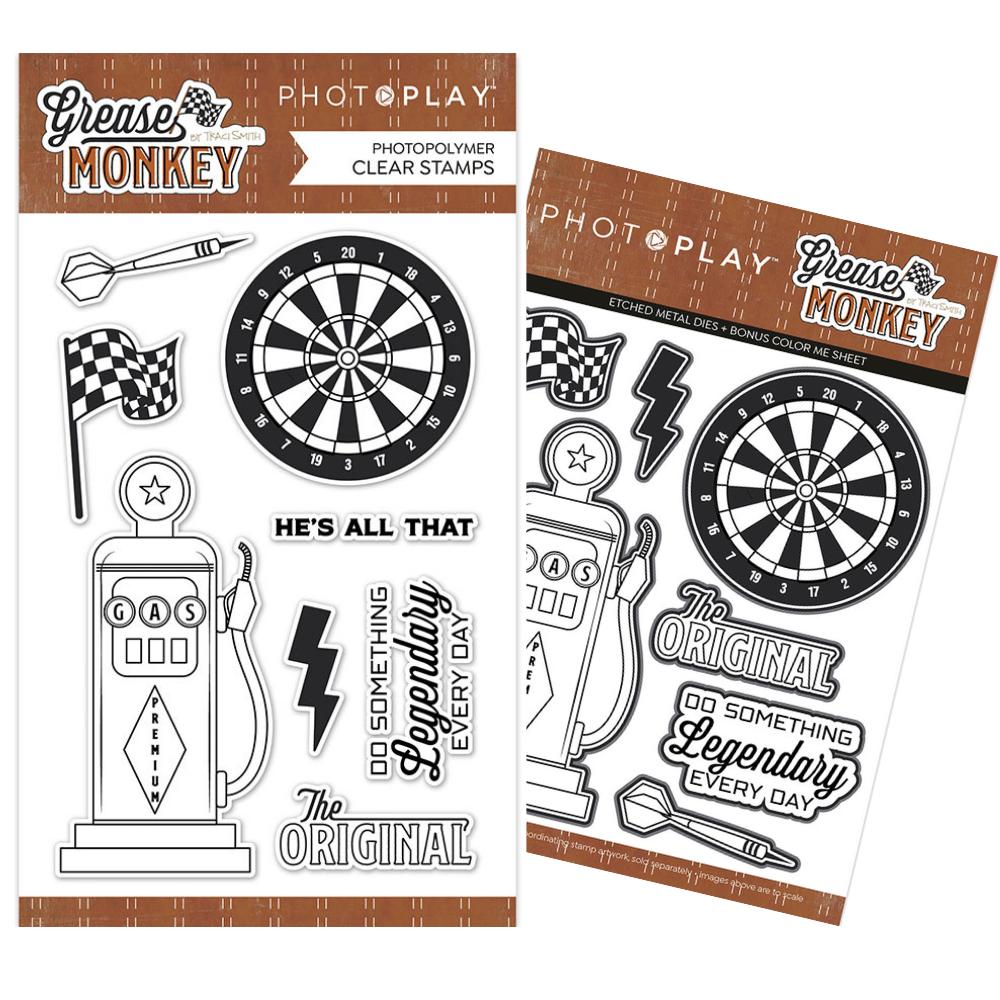 PhotoPlay - Grease Monkey - Stamp and Die BUNDLE