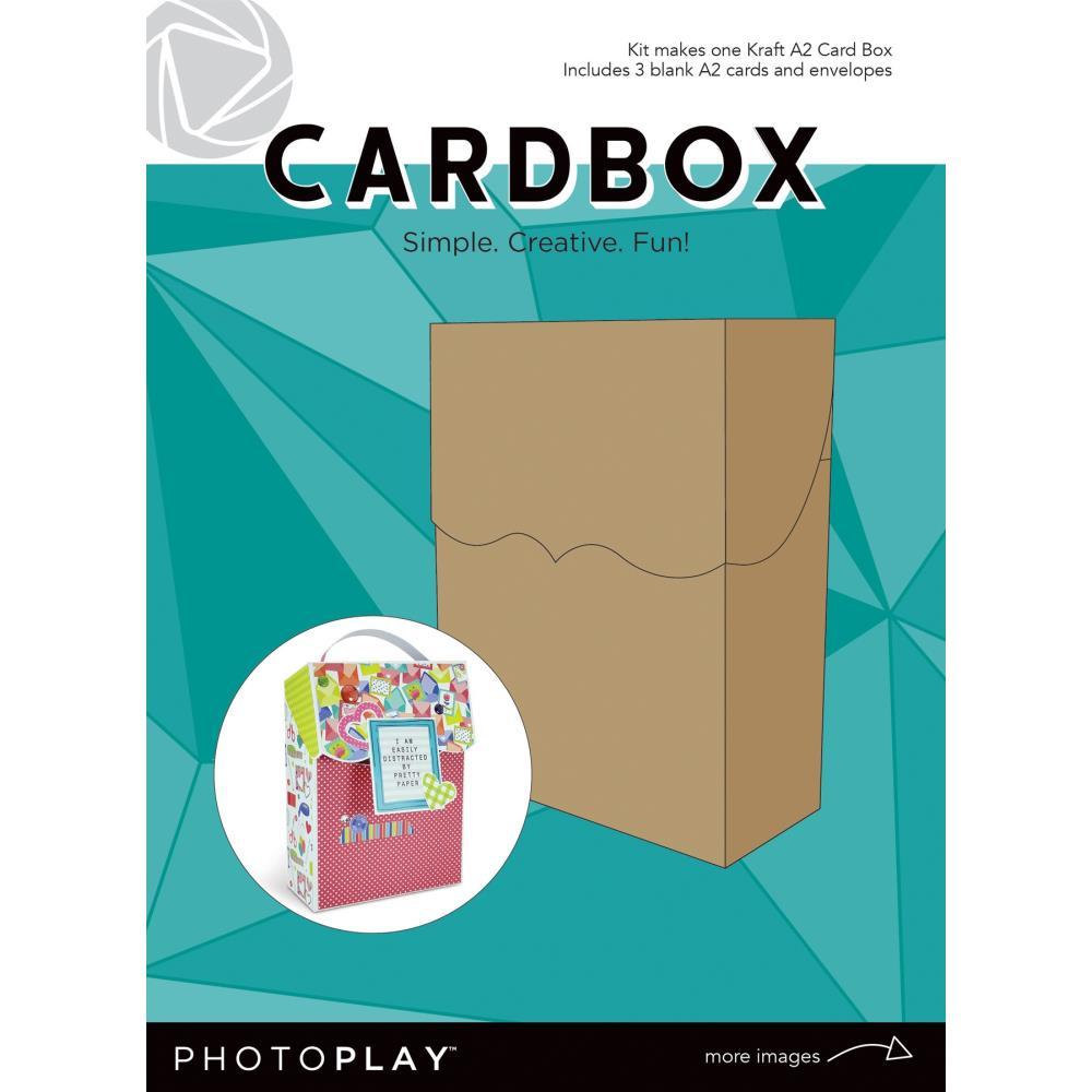 Photoplay Maker Series Cardbox Kit - Kraft