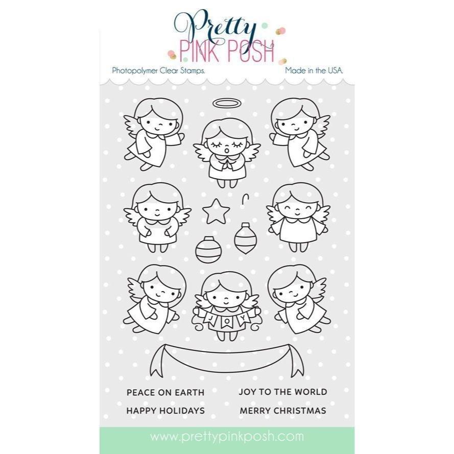 Pretty Pink Posh - Stamp - Angel Friends