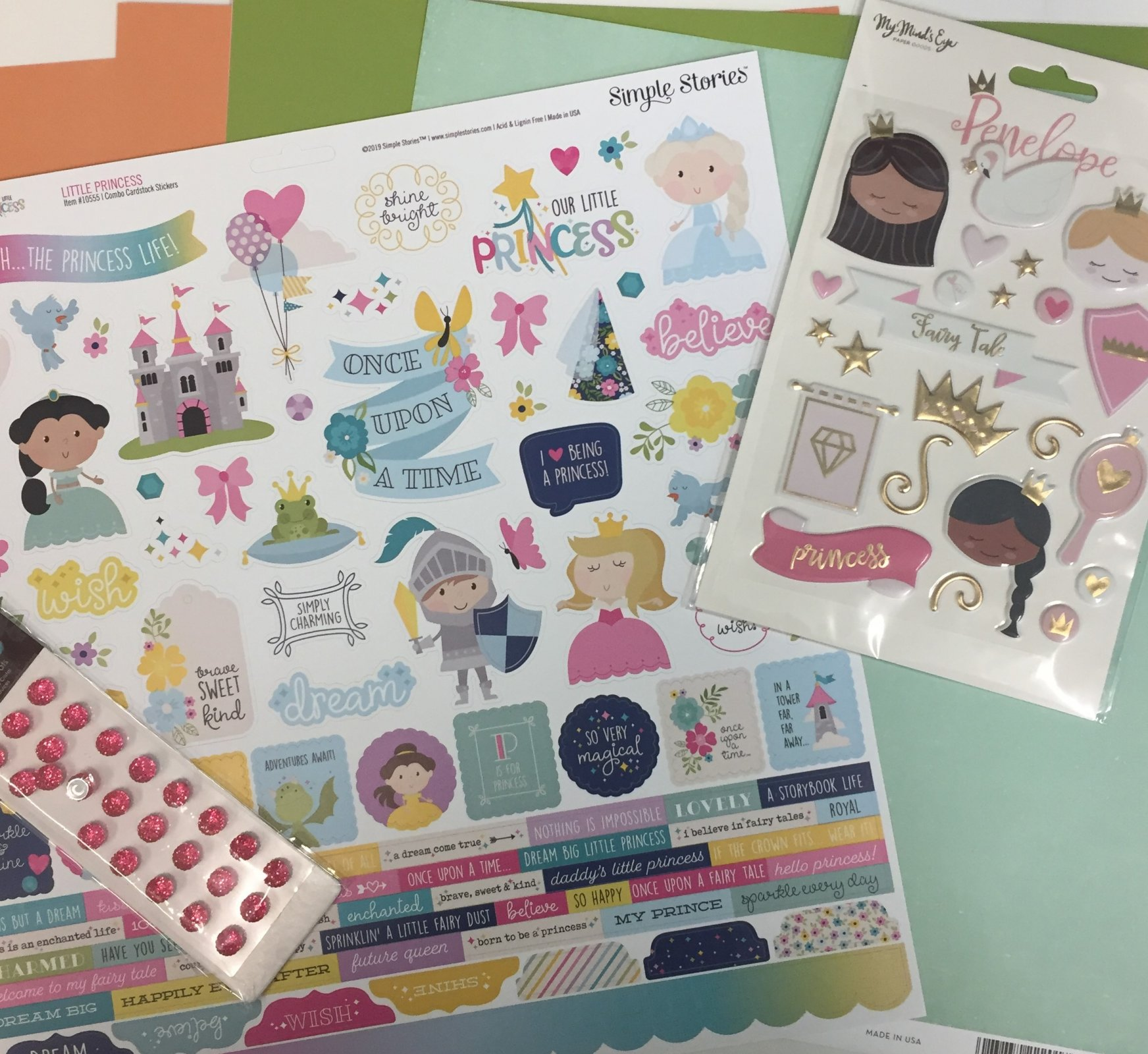 ^Layout Bundle - Princess