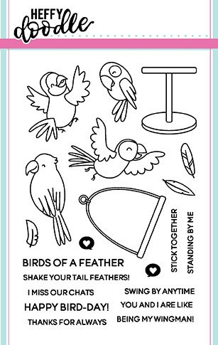 ^Heffy Doodle - Wingman Stamp and Die Combo Set