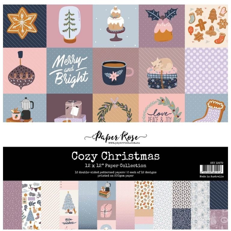 ^Paper Rose - 12x12 Collection Pack - Cozy Christmas