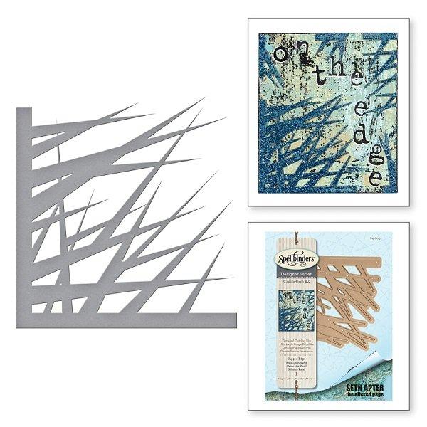 ^Spellbinders - Designer Series Dies - Jagged Edge