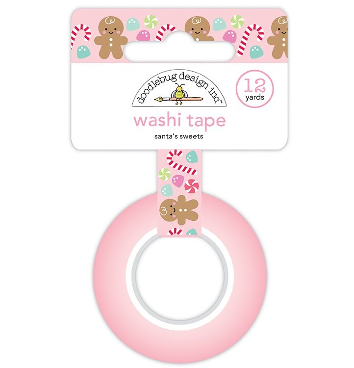 Doodlebug - Washi Tape - Santa's Sweets