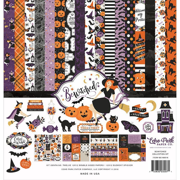 Echo Park - Be Witched Collection - 12x12 Collection Kit