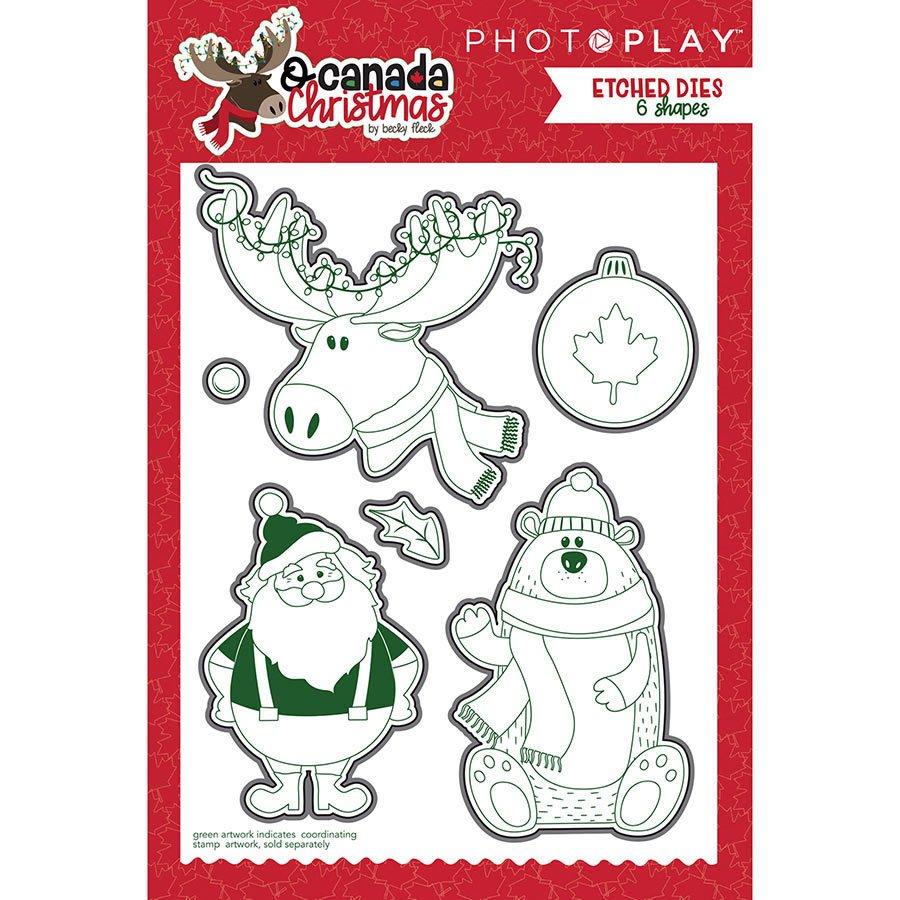 ^PhotoPlay - O Canada Christmas - Die Set (CLEARANCE)
