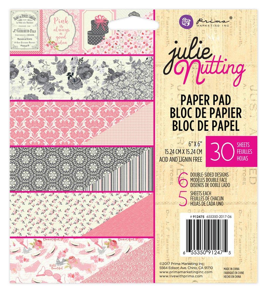 Prima - Julie Nutting - 6x6 Paper Pad
