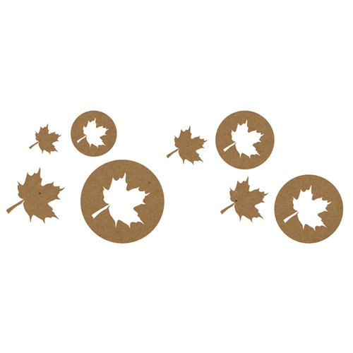 ^Quick Quotes - Fall Leaves Die Cuts
