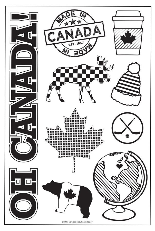^SCT - Celebrate Canada Stamp Set