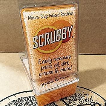 Scrubby Soap Bar - Orange