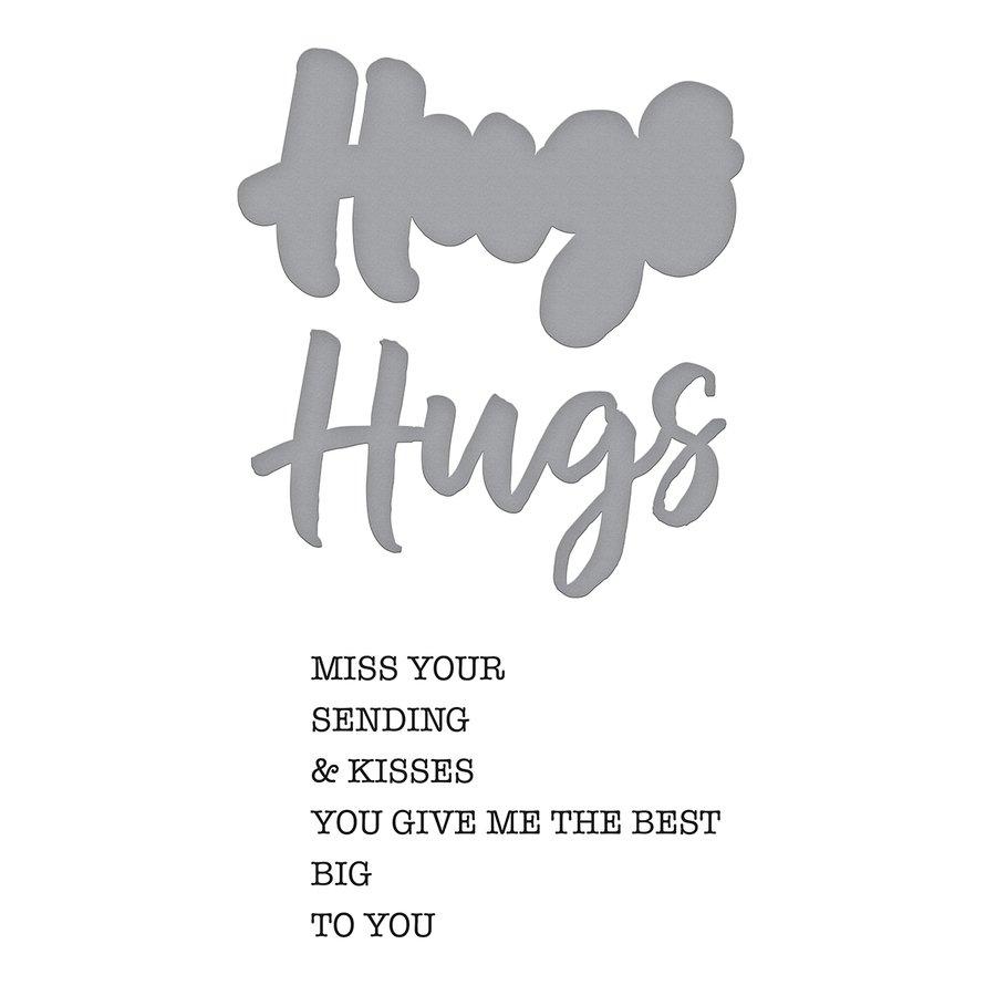 Spellbinders - Dies - Hugs Expression