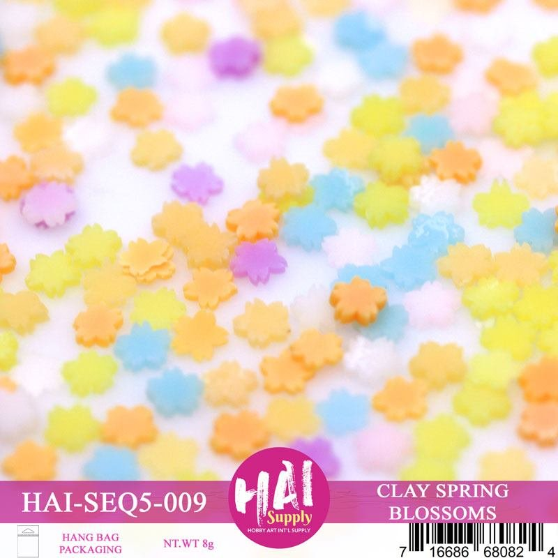 HAI Sequins - Clay Spring Blossoms