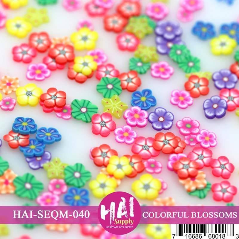 HAI Sequins - Colourful Blossoms