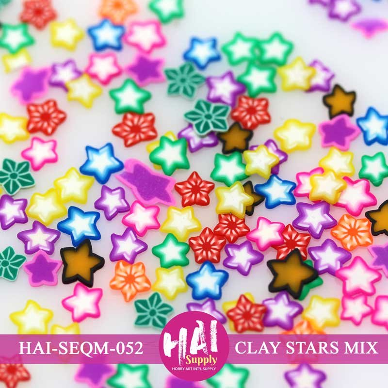 HAI Sequins - Clay Mix Stars