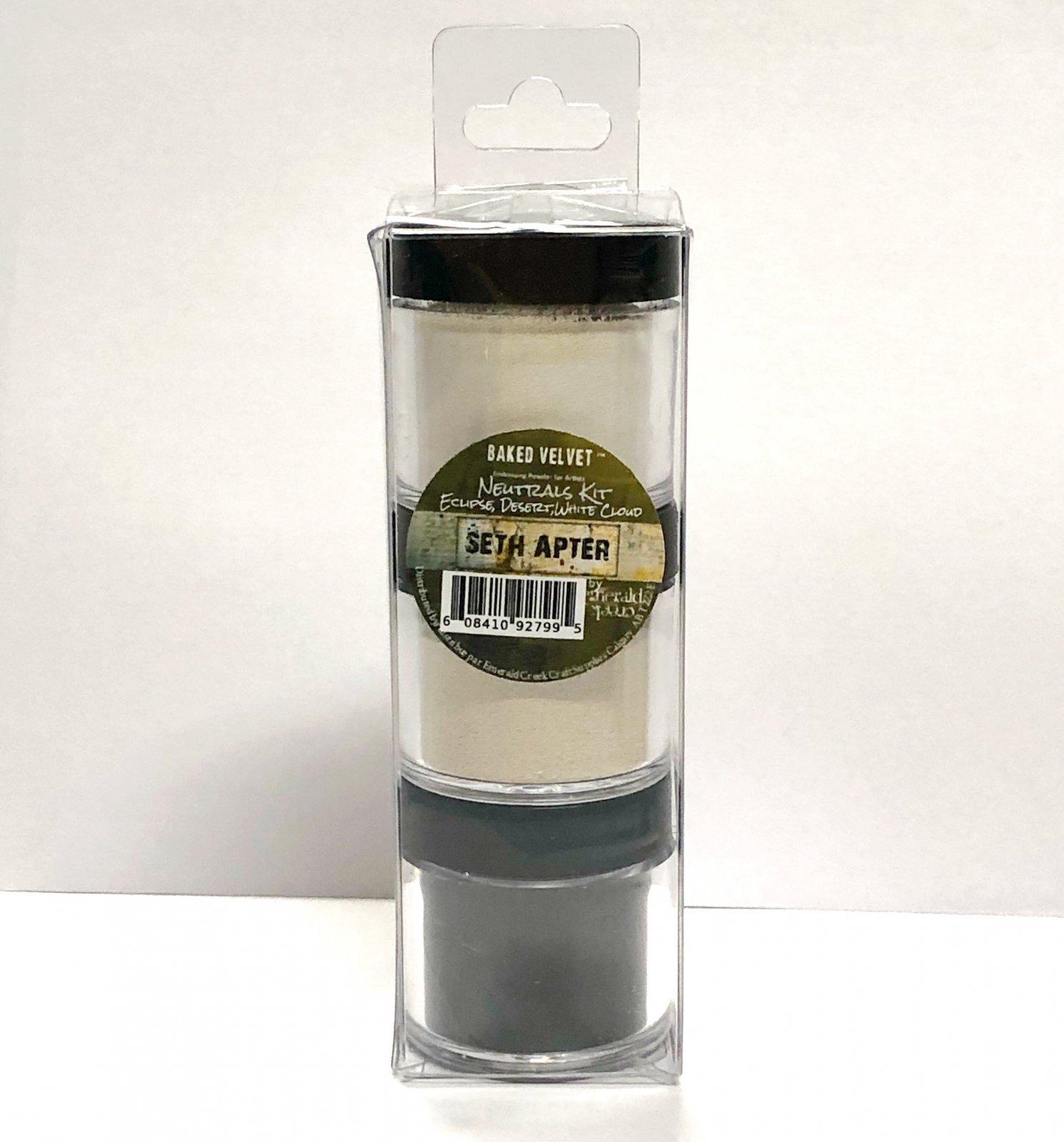^Emerald Creek - Baked Velvet - Neutrals Kit Embossing Powder