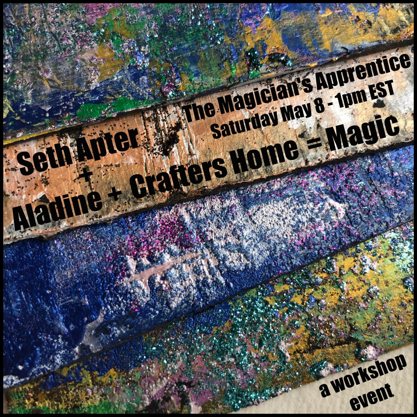 ONLINE CLASS: The Magician's Apprentice with Seth Apter