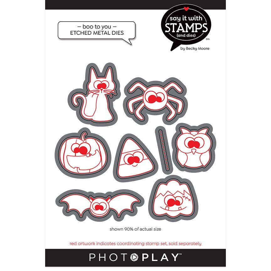 PhotoPlay Say It With Stamps Dies - Boo To You