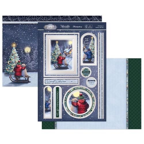 Hunkydory - Luxury Topper Set - Christmas Is Perfect With You