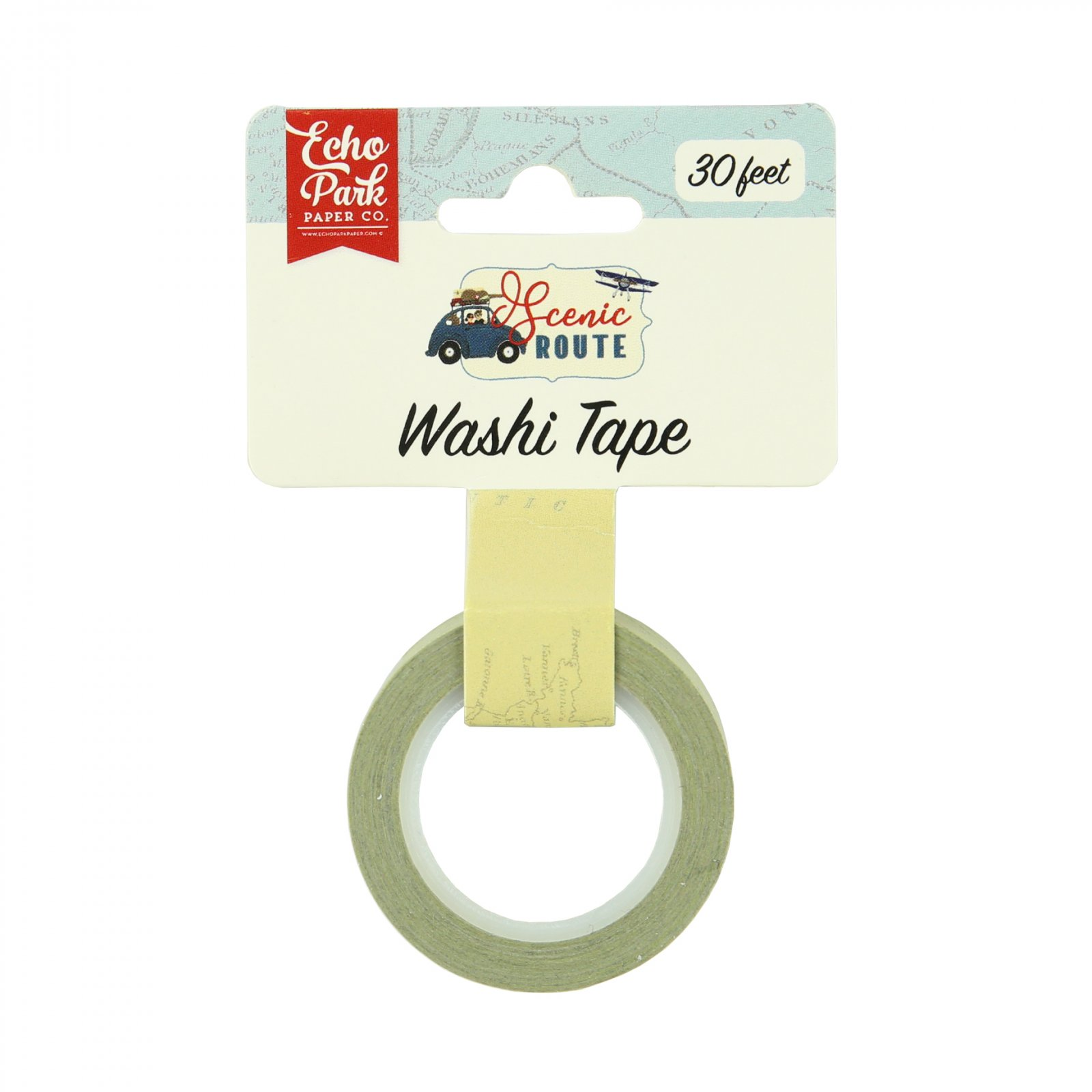 ^Echo Park - Washi Tape - Scenic Route, Map