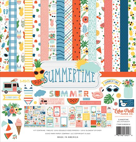 ^Echo Park - 12x12 Collection Pack - Summertime