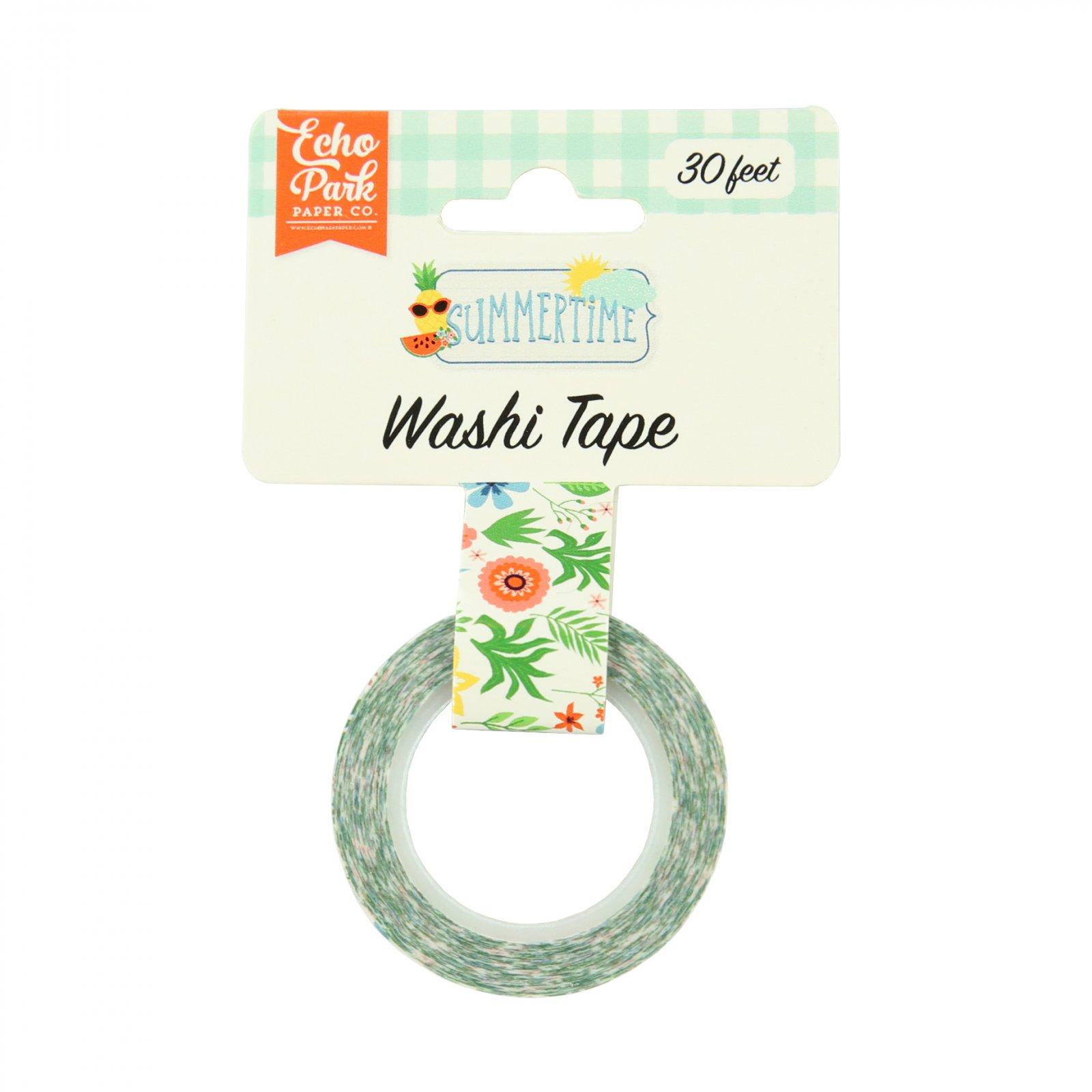 ^Echo Park - Washi Tape - Summertime, Summer Flowers